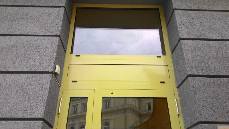 lauko durys Ponzio aliuminio 445